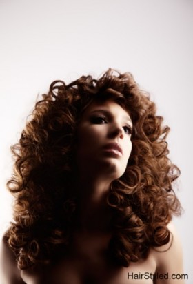 Curly Hair Model